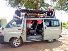 Self-drive car hire rental tours in Uganda