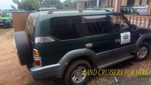 4×4 Safari Land Cruisers For Hire in Uganda