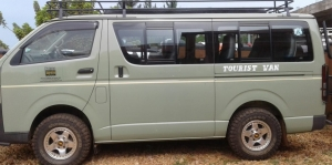 4X4 Safari Tour Van for hire rent